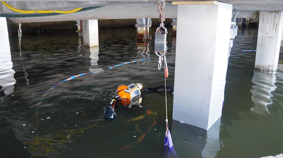 Gjutning under och i vatten