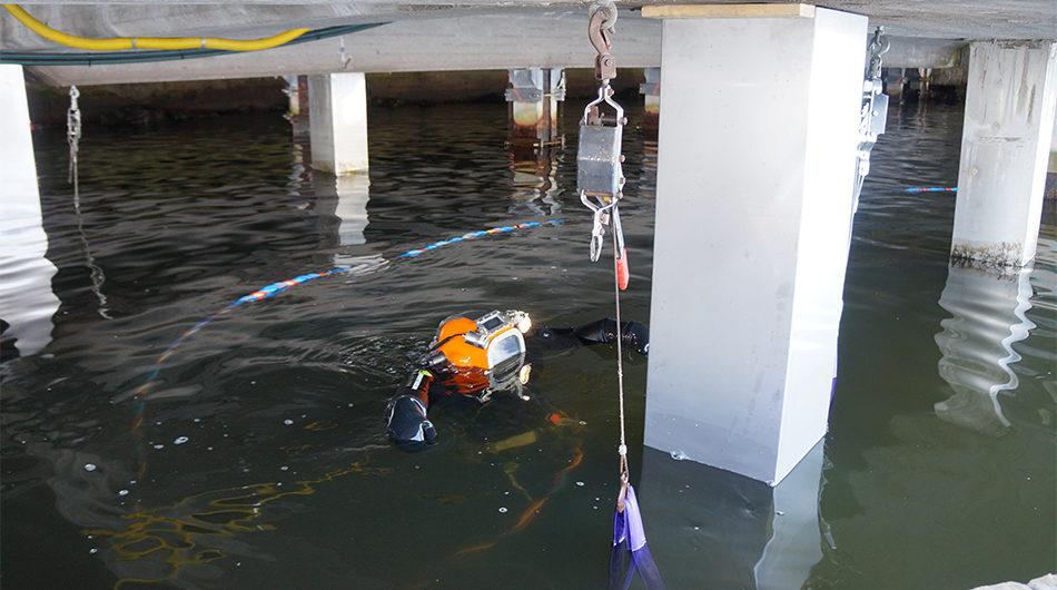 Gjuta betong under vatten